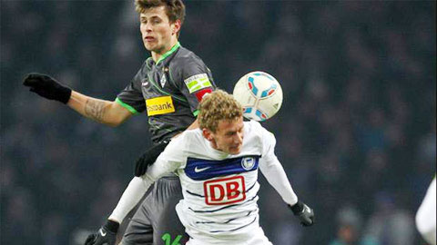 "21h30 ngày 31/10: Hertha Berlin vs M""Gladbach"