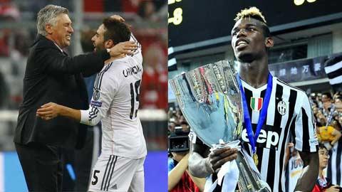 Vì sao Bayern hỏi mua Carvajal và Pogba?