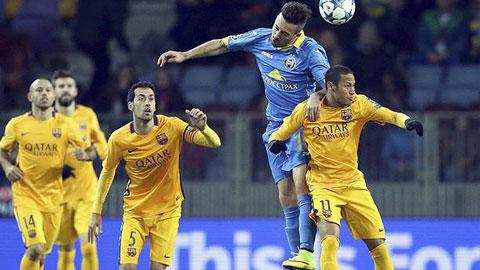 Đội hình dự kiến Barca vs BATE Borisov vòng bảng Champions League