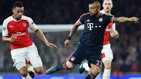 Đội hình dự kiến Bayern Munich vs Arsenal vòng bảng Champions League