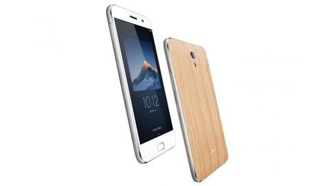 Smartphone giá rẻ giống iPhone 6s Plus, vỏ bằng gỗ sồi Mỹ
