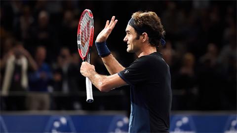 Federer và Nadal vùi dập đối thủ ở vòng 2 Paris Masters