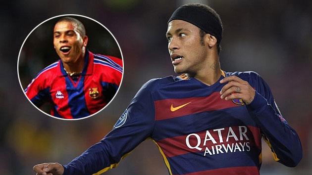 Neymar xô đổ thành tích của huyền thoại Ronaldo tại Champions League