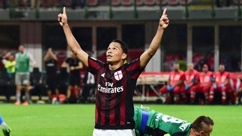 Milan thăng hoa cùng sát thủ Bacca