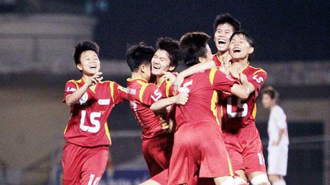 Giả bóng đá nữ quốc tế TP.HCM: Chủ nhà dội cơn mưa bàn thắng