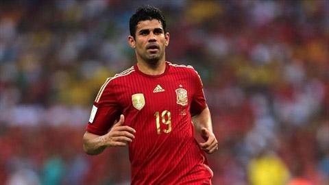 Diego Costa được gọi trở lại ĐT Tây Ban Nha