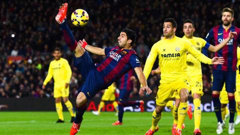 Đội hình dự kiến Barca gặp Villarreal vòng 11 La Liga