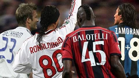 Balotelli, Zamorano, Ronaldo & những số áo kỳ lạ trong làng bóng đá
