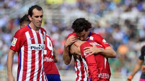 Griezmann lại sắm vai người hùng của Atletico