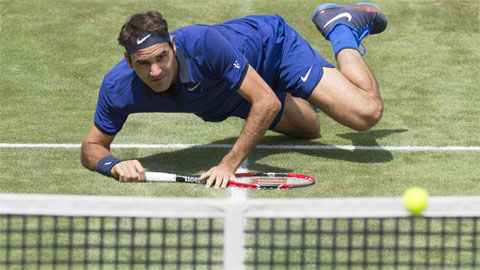 Federer xác lập kỷ lục 1.071 trận thắng