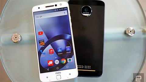 Moto Z: Smartphone mới không có lỗ tai nghe của Motorola