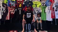 Thế giới sao 9/5: Messi khoe bộ sưu tập áo đấu đồ sộ