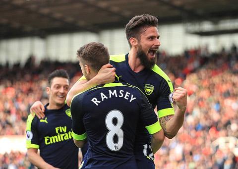Arsenal phải thắng và hy vọng các đối thủ sảy chân