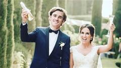 Thế giới sao 20/6: Griezmann hạnh phúc trong ngày cưới