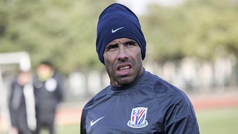 Phát phì không kiểm soát, Tevez bị đội bóng Trung Quốc loại khỏi đội hình