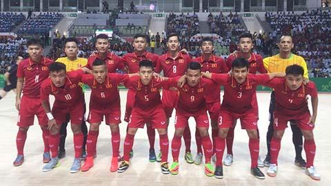 ĐT futsal Việt Nam thua ngược Đài Loan