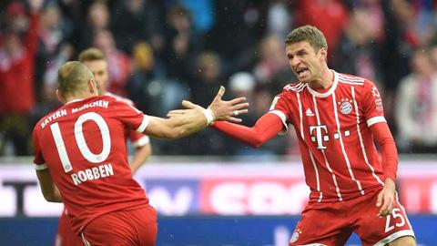 Bayern có chiến thắng nhẹ nhàng trước Mainz