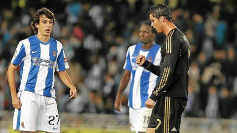 Ronaldo 6 năm liền lỡ hẹn bắn phá pháo đài Sociedad