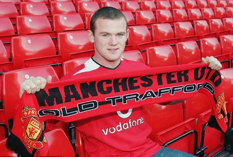 Rooney là người ấm áp từ lúc còn trẻ