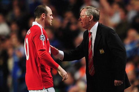 Rooney từng khiến Sir Alex điên đầu