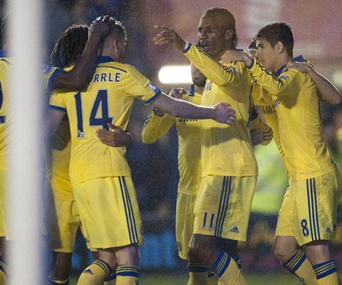 Vòng 4 Cúp Liên Đoàn Anh: Chelsea và Liverpool thắng sít sao - ảnh 4