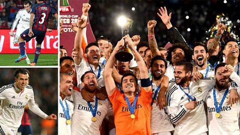 Real Madrid nhẹ nhàng vượt qua San Lorenzo