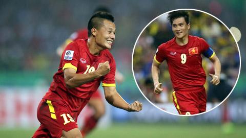 Công Vinh và Thành Lương có tên trong đội hình tiêu biểu AFF Suzuki Cup 2014 của FourFourTwo